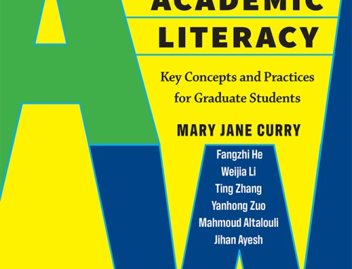 New Book for All Graduate Students! An A to W of Academic Literacy by Curry et al.