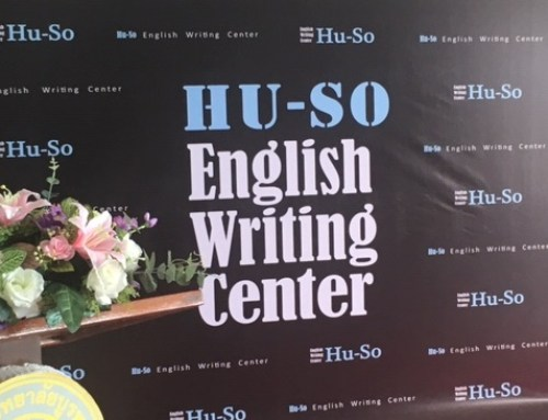 Introducing the HU-SO English Writing Center at Burapha University in Thailand