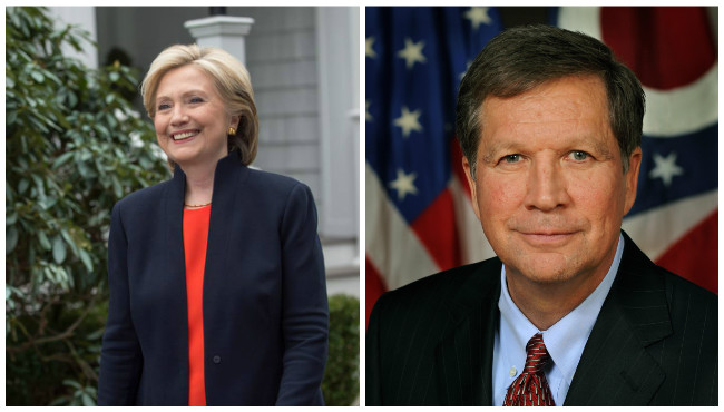 Hillary Clinton John Kasich_140050