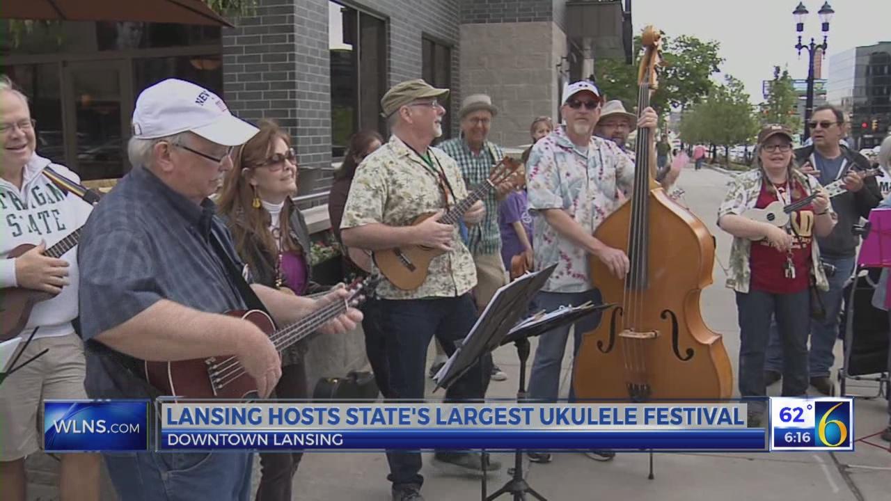 Lansing hosts Michigan's largest ukulele festival