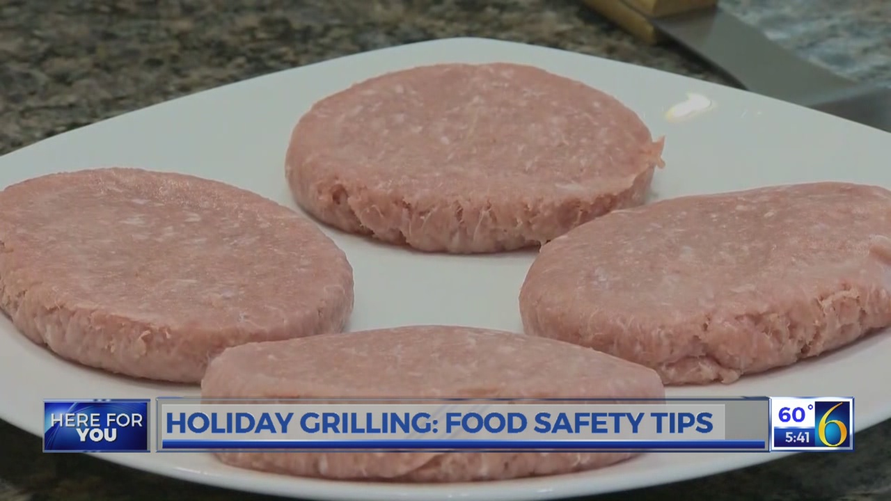 Grilling food safety tips