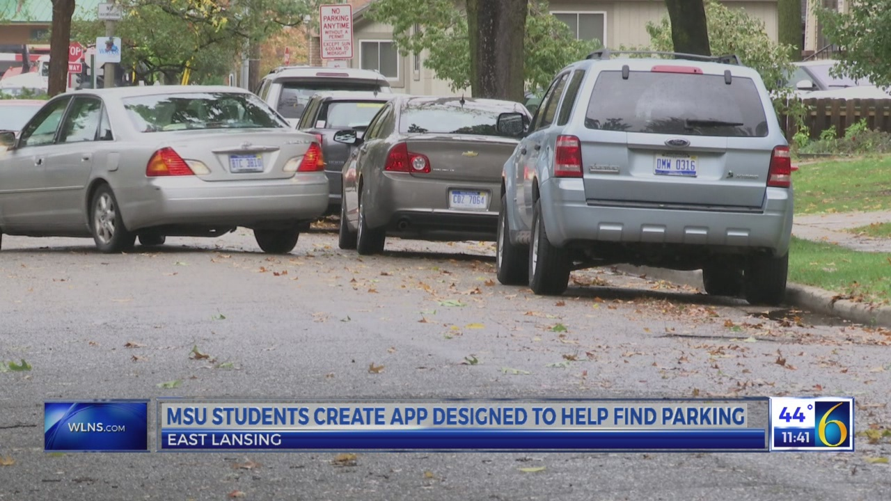 MSU students create parking app