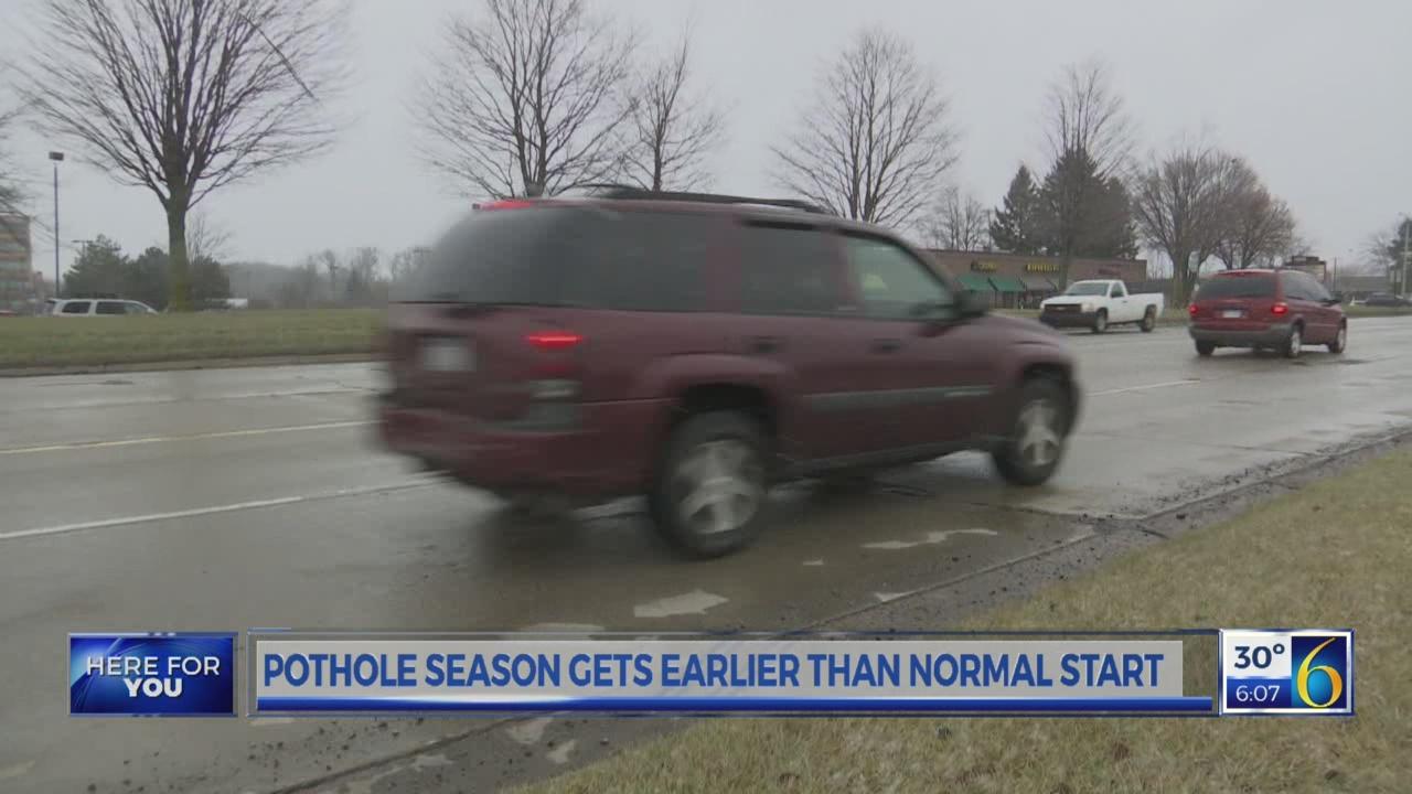 Pothole season