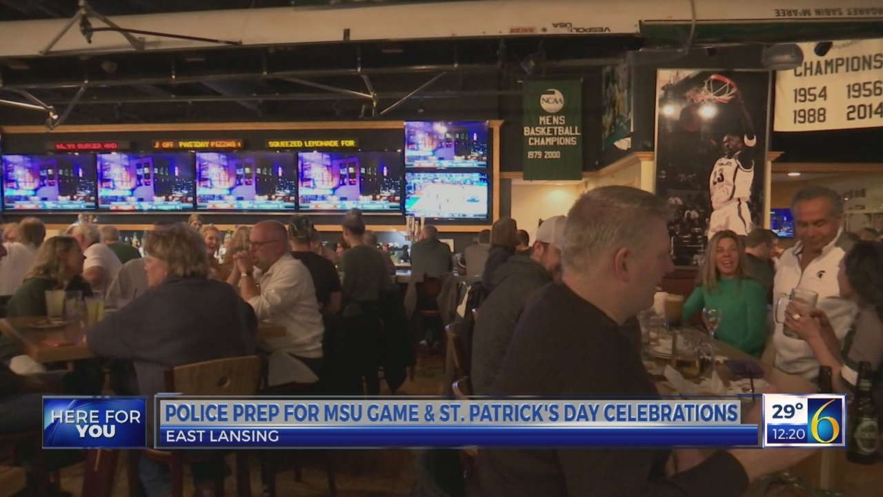 EL Police prep for game and St. Patricks