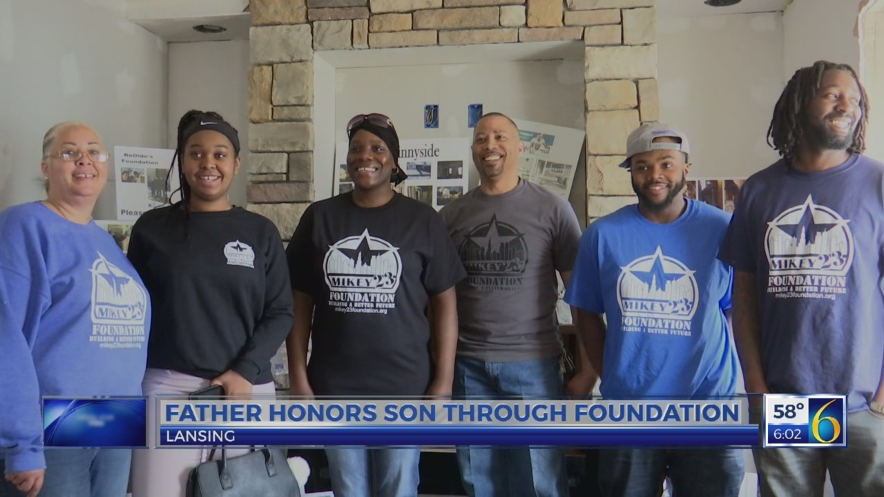 Father honors son through the Mikey 23 Foundation