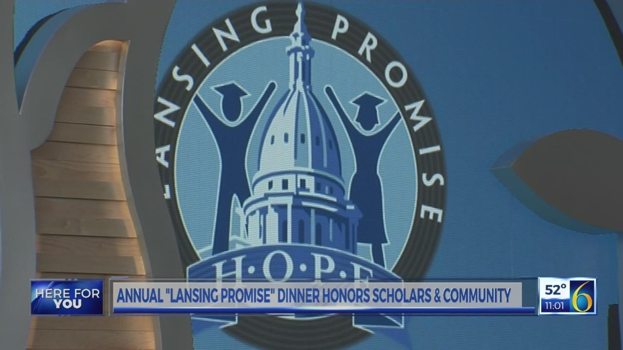 """Lansing Promise"" Dinner honors scholars and community"