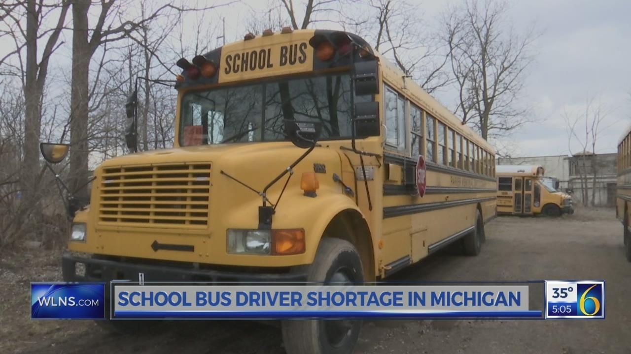 School bus driver shortage in Michigan