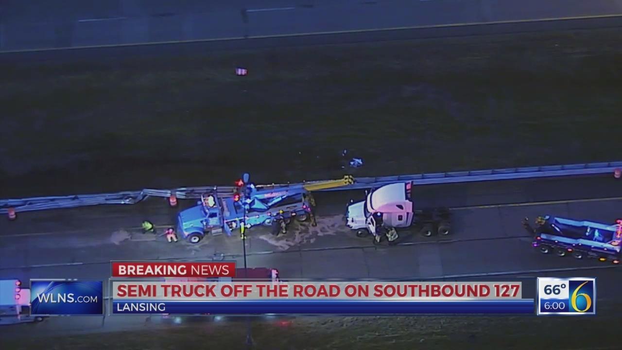 6 News This Morning: semi crash