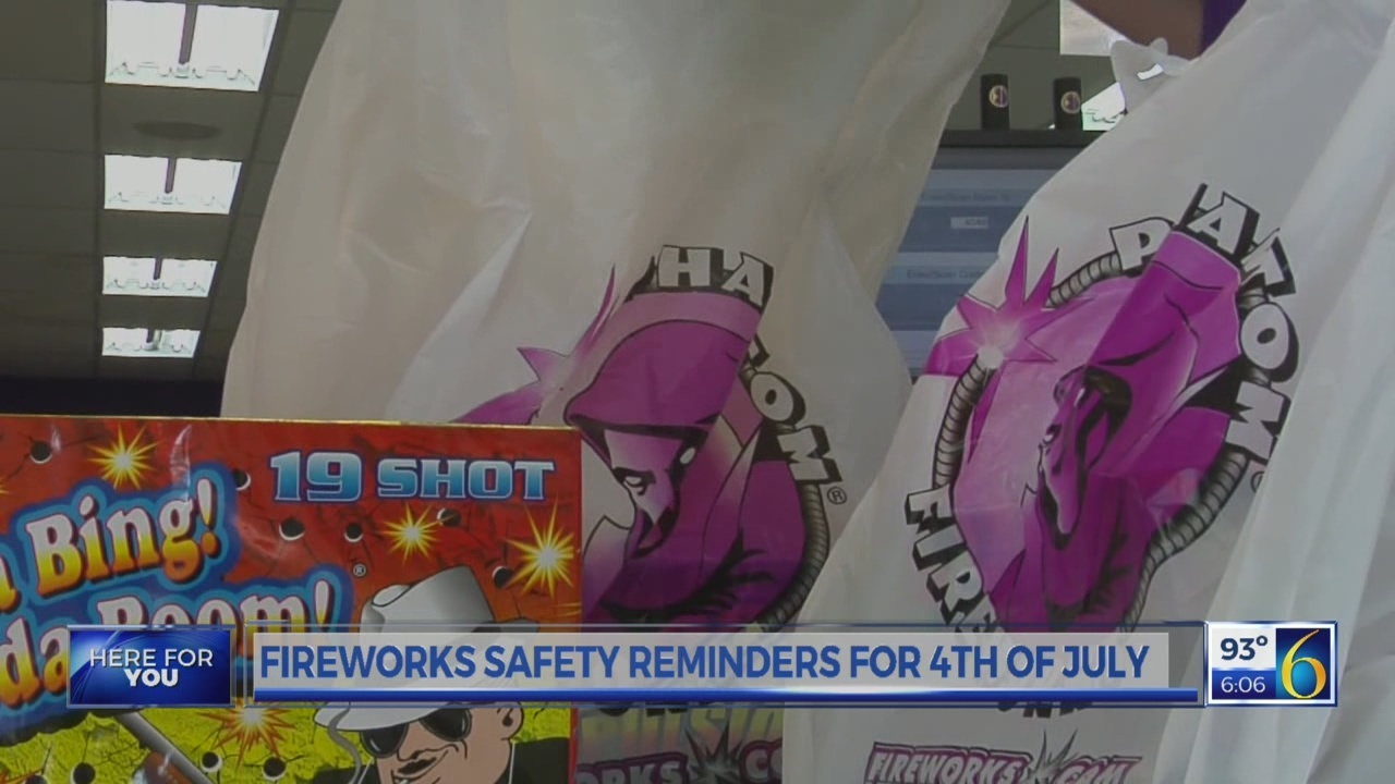 6 News at 6:00 p.m.: fireworks safety