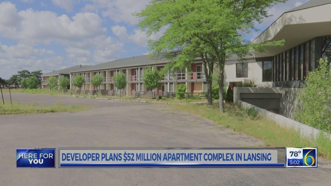 Developer plans $52 million apartment complex in Lansing