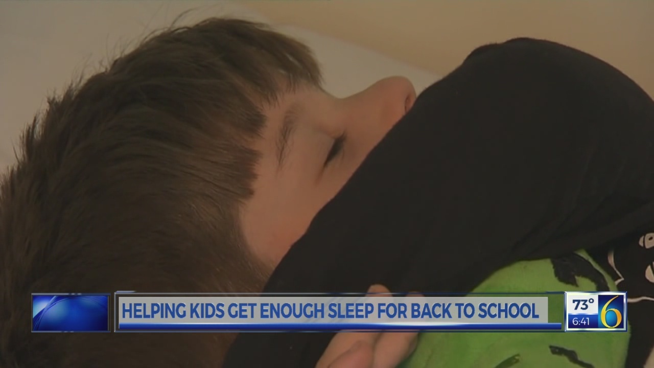 6 News This Morning: bedtime routines