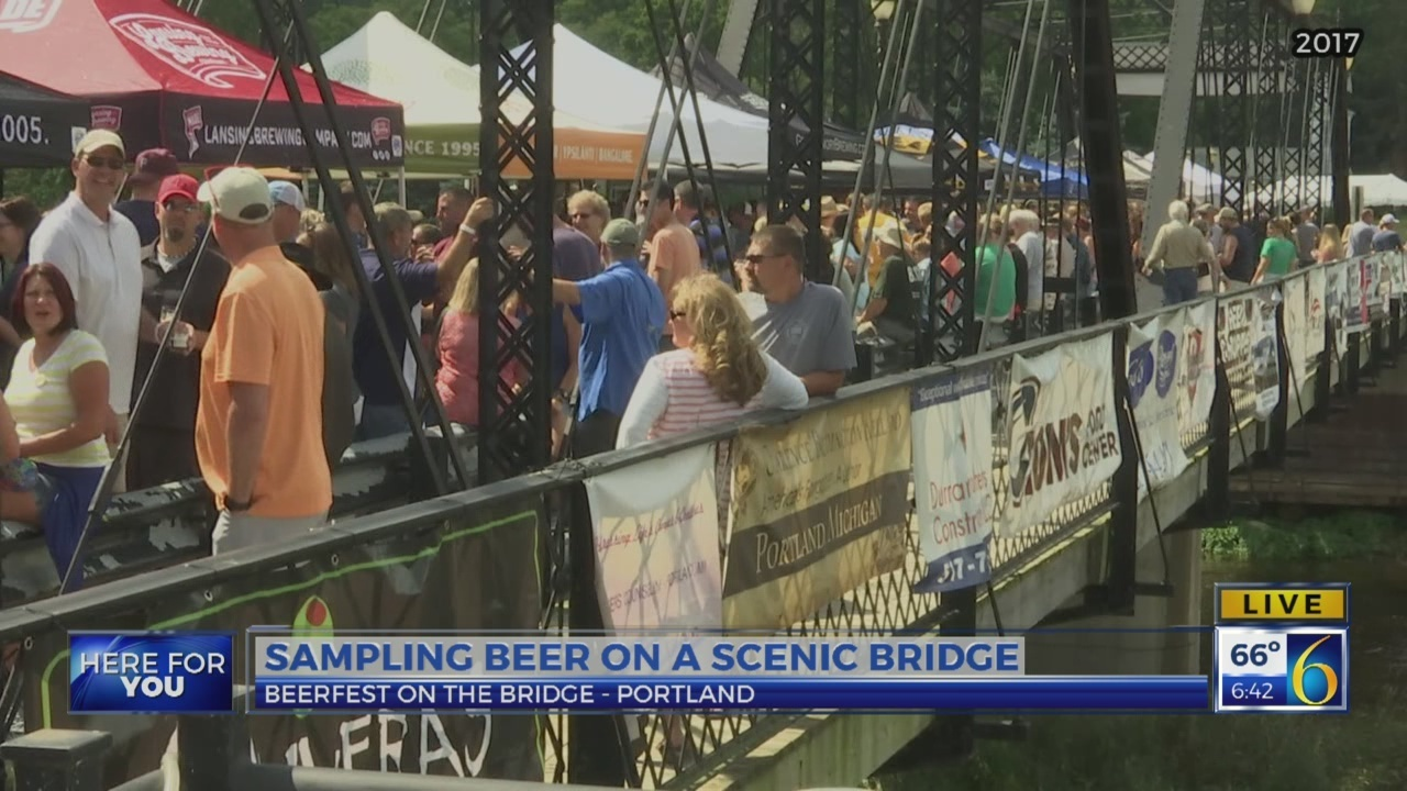 6 News This Morning: beerfest on the bridge