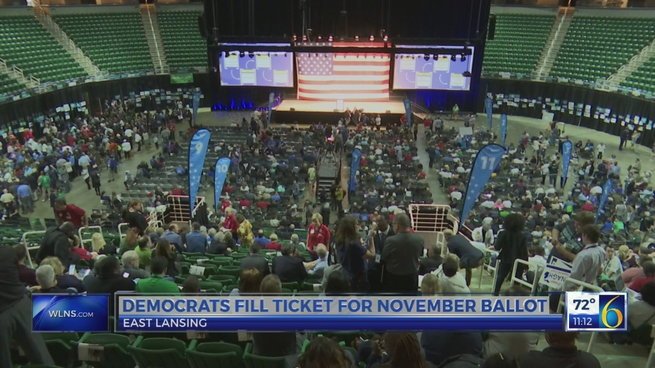 Democrats fill ticket for November ballot