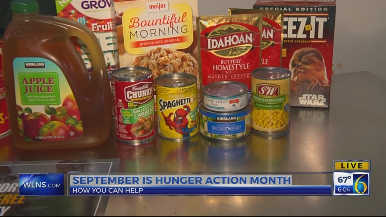 6 News This Morning: HUNGER ACTION MONTH