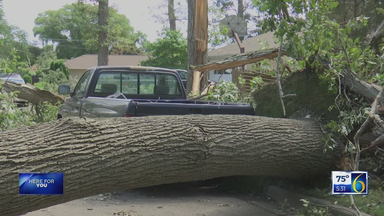 6 News at 5:30: storm damage jackson county