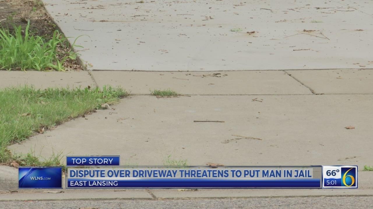 Driveway dispute