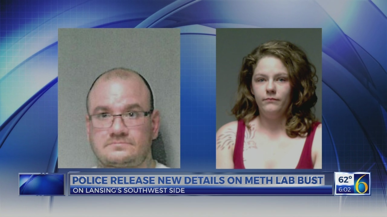 Police release new details on meth lab bust in Lansing