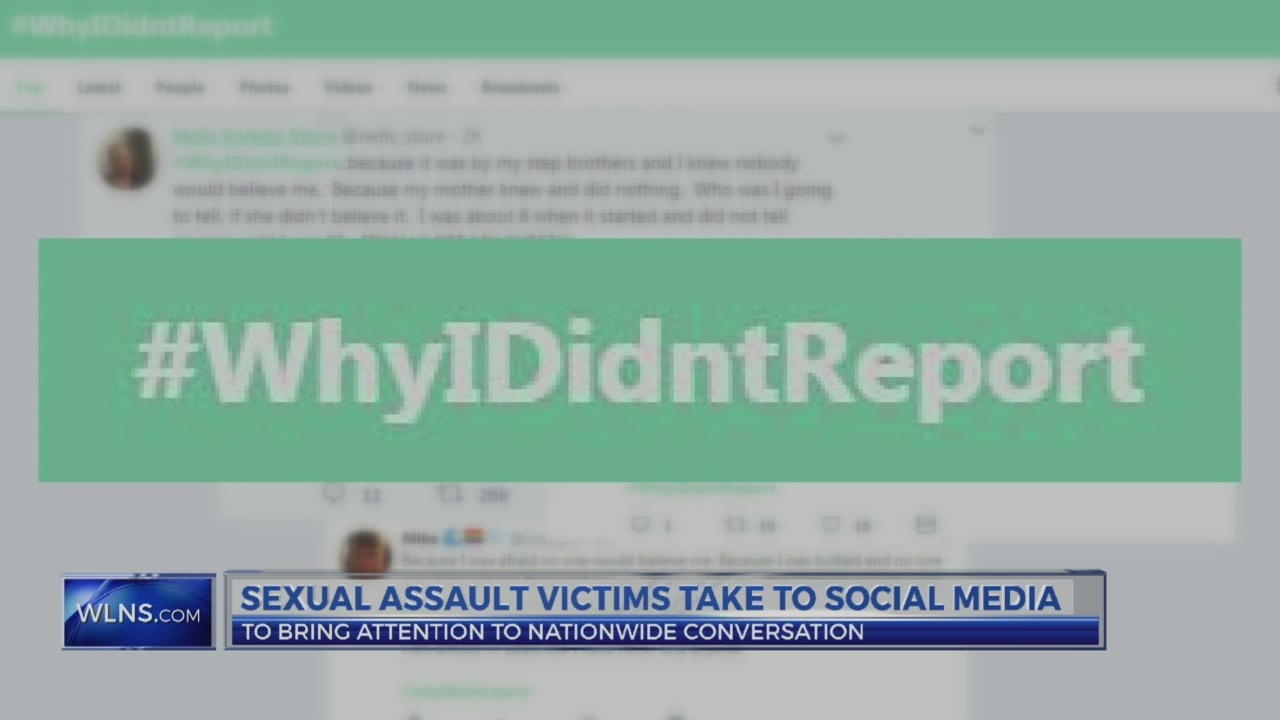 Sexual assault survivors take to social media to tell their story