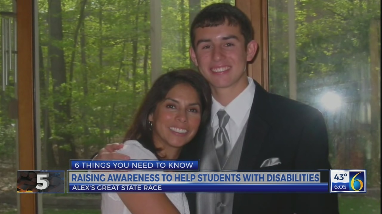 6 News This Morning: alex's great state race