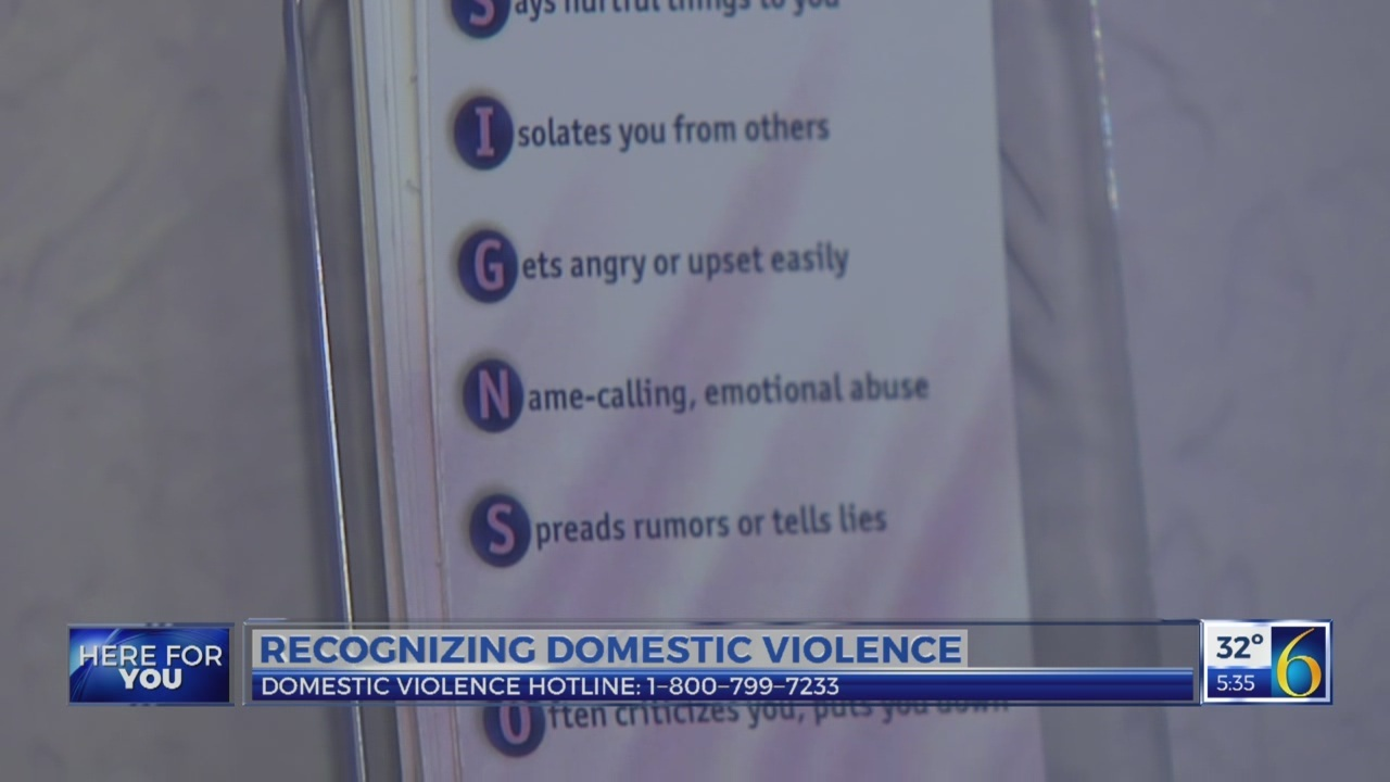 6 News at 5:30: domestic violence