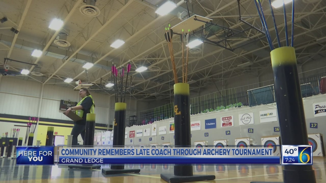 Community remembers late coach through archery tournament