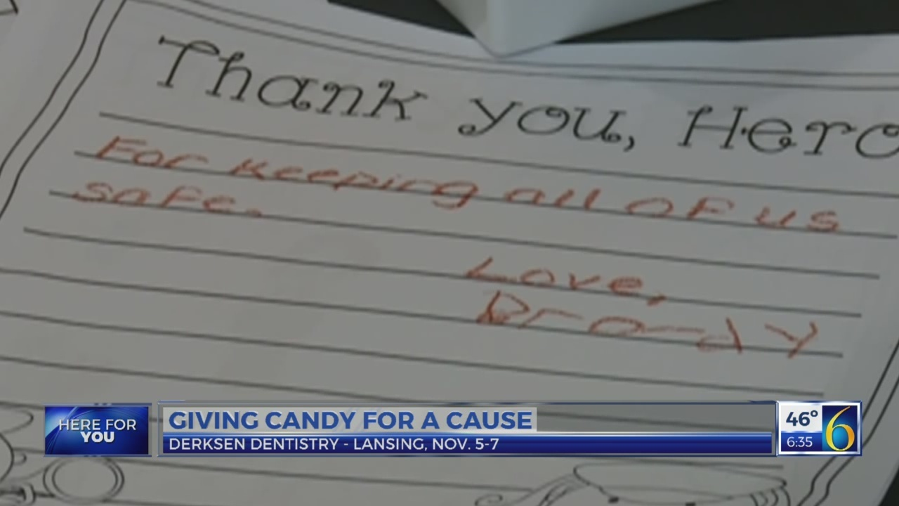 6 News This Morning: candy buy back
