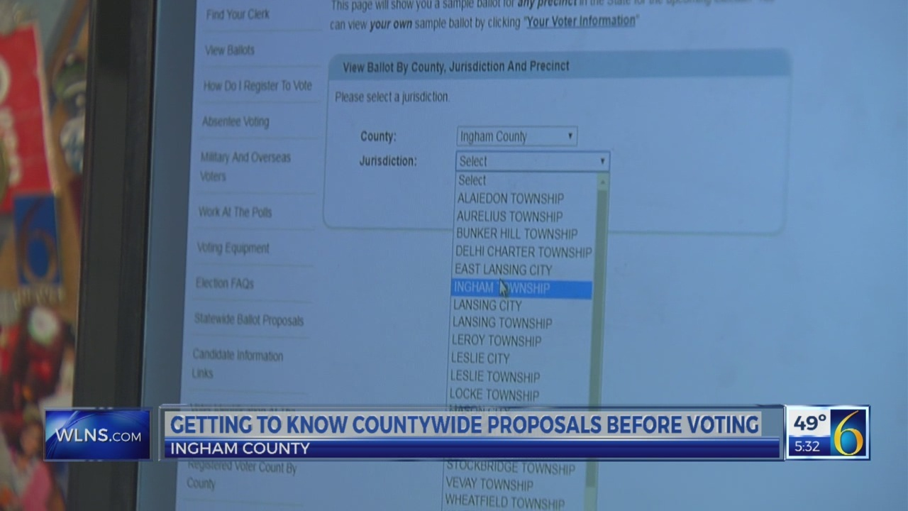 6 News This Morning: ingham county proposals