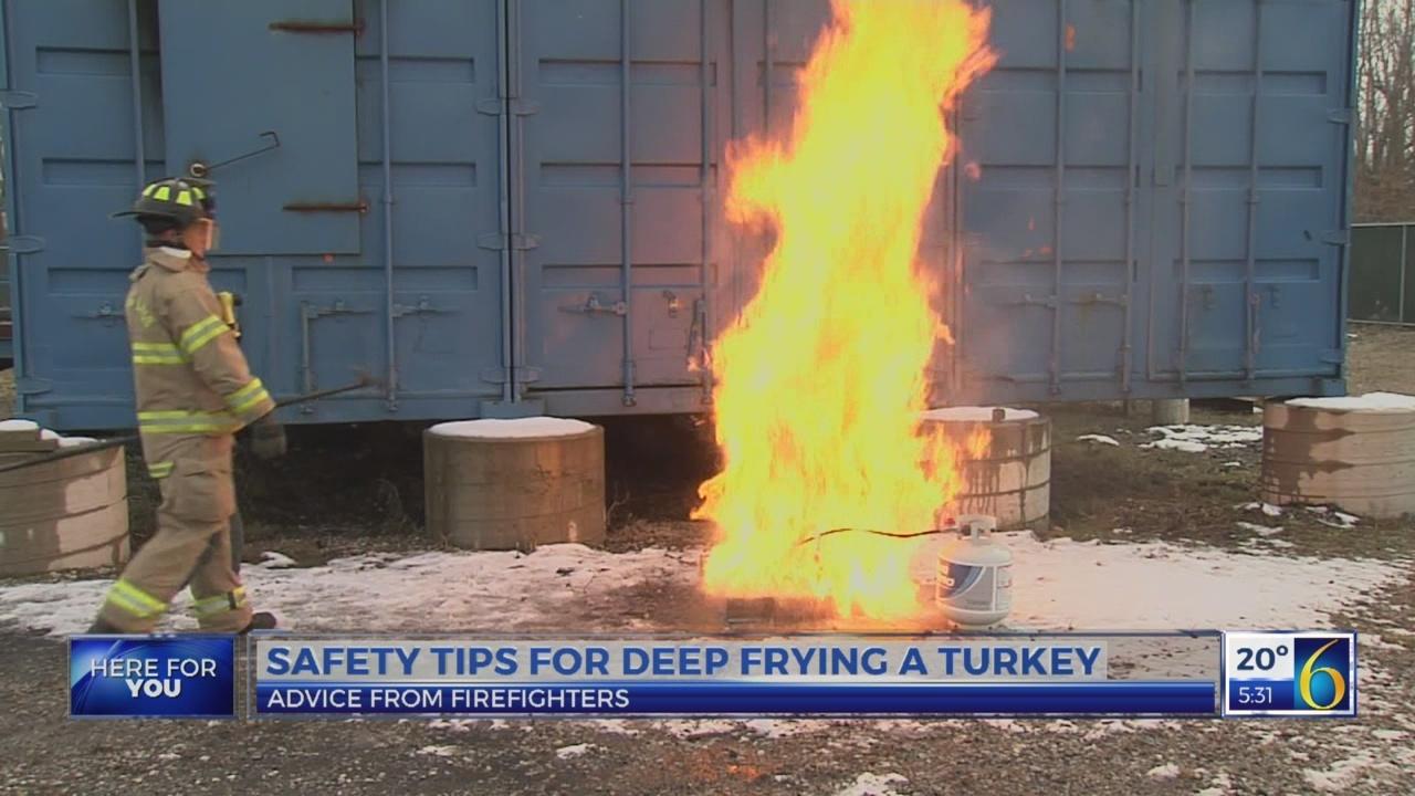 6 News This Morning: turkey fryer tips