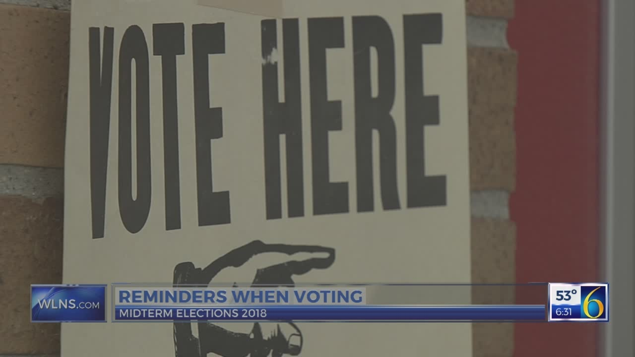 6 News This Morning: voting reminders