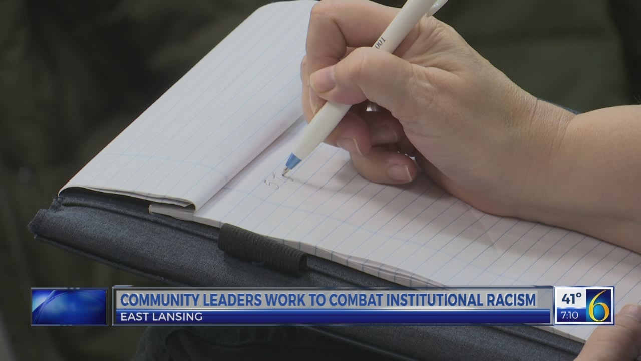 Community leaders work to combat racism