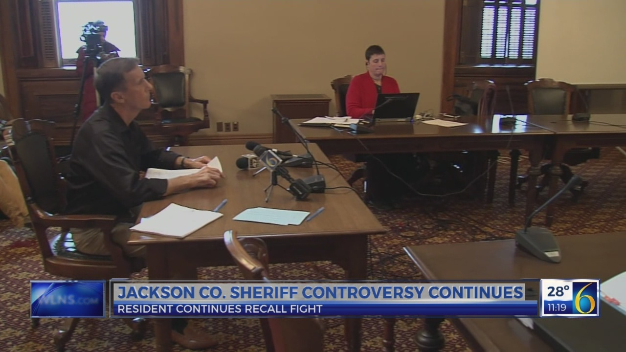 Jackson Co. sheriff controversy continues