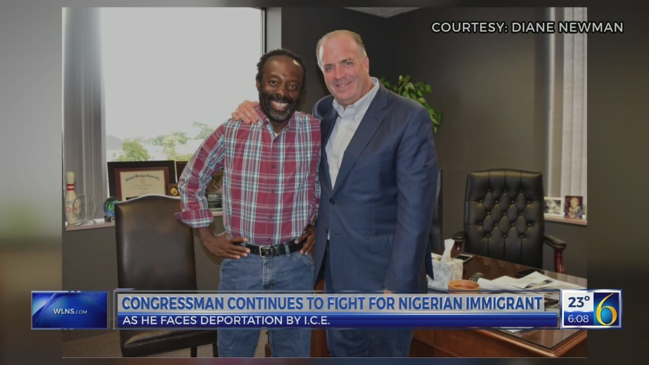 Congressman continues to fight for Nigerian immigrant