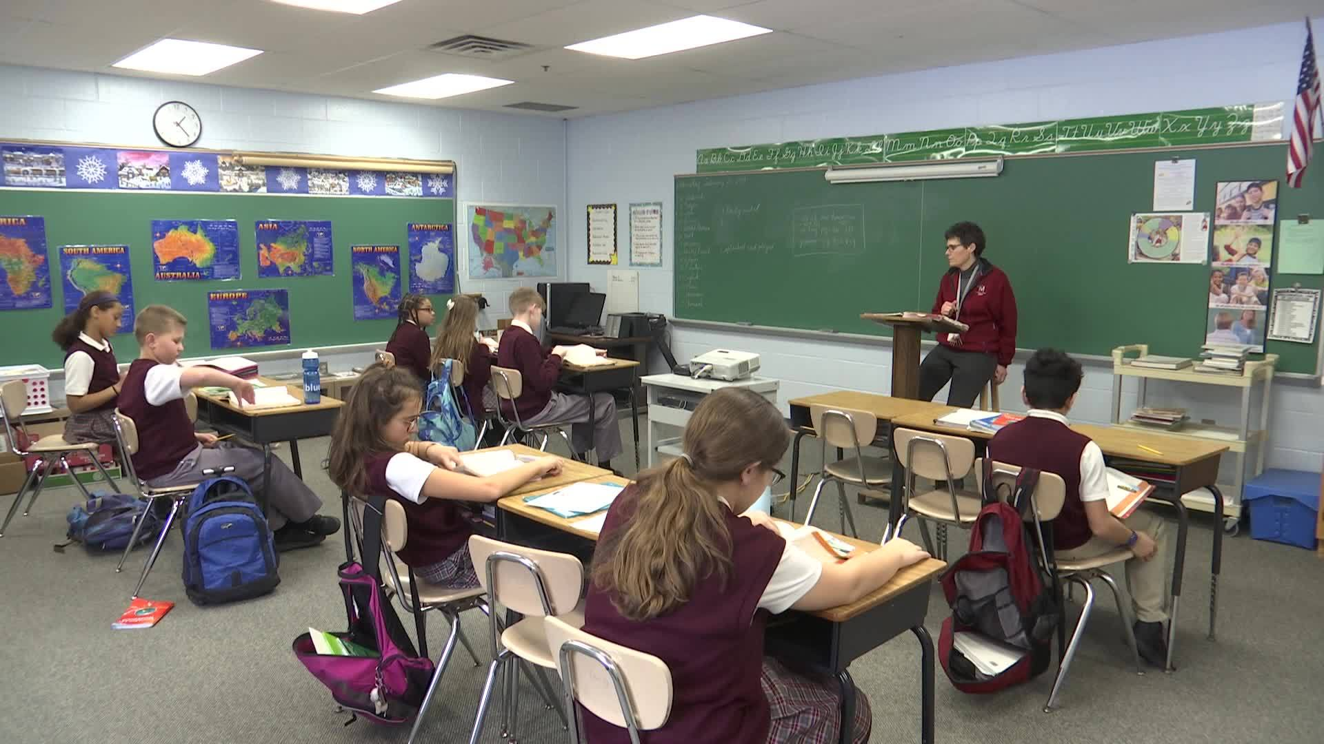 Two Catholic schools cutting tuition to attract more students