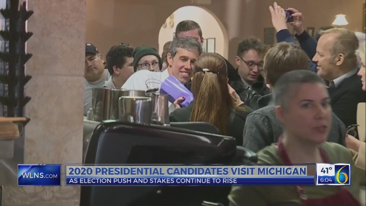 2020 presidential candidates visit Michigan