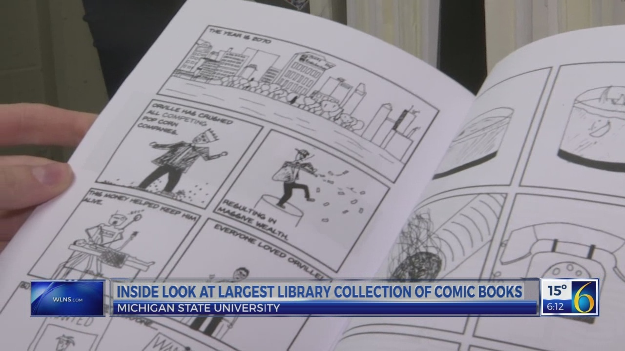 6 News This Morning: comic book collection