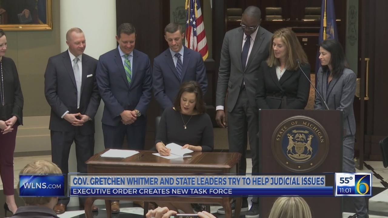 Gov. Whitmer signs in new order