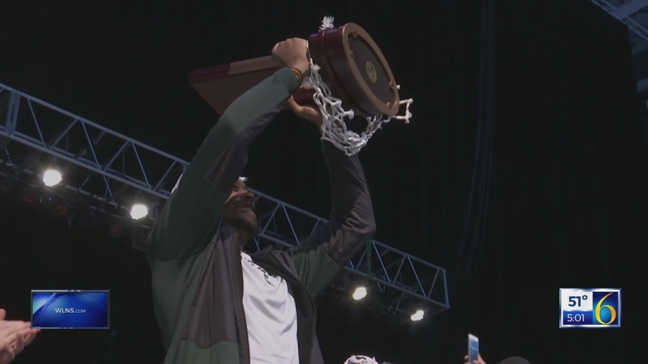 Spartans leave for Final Four