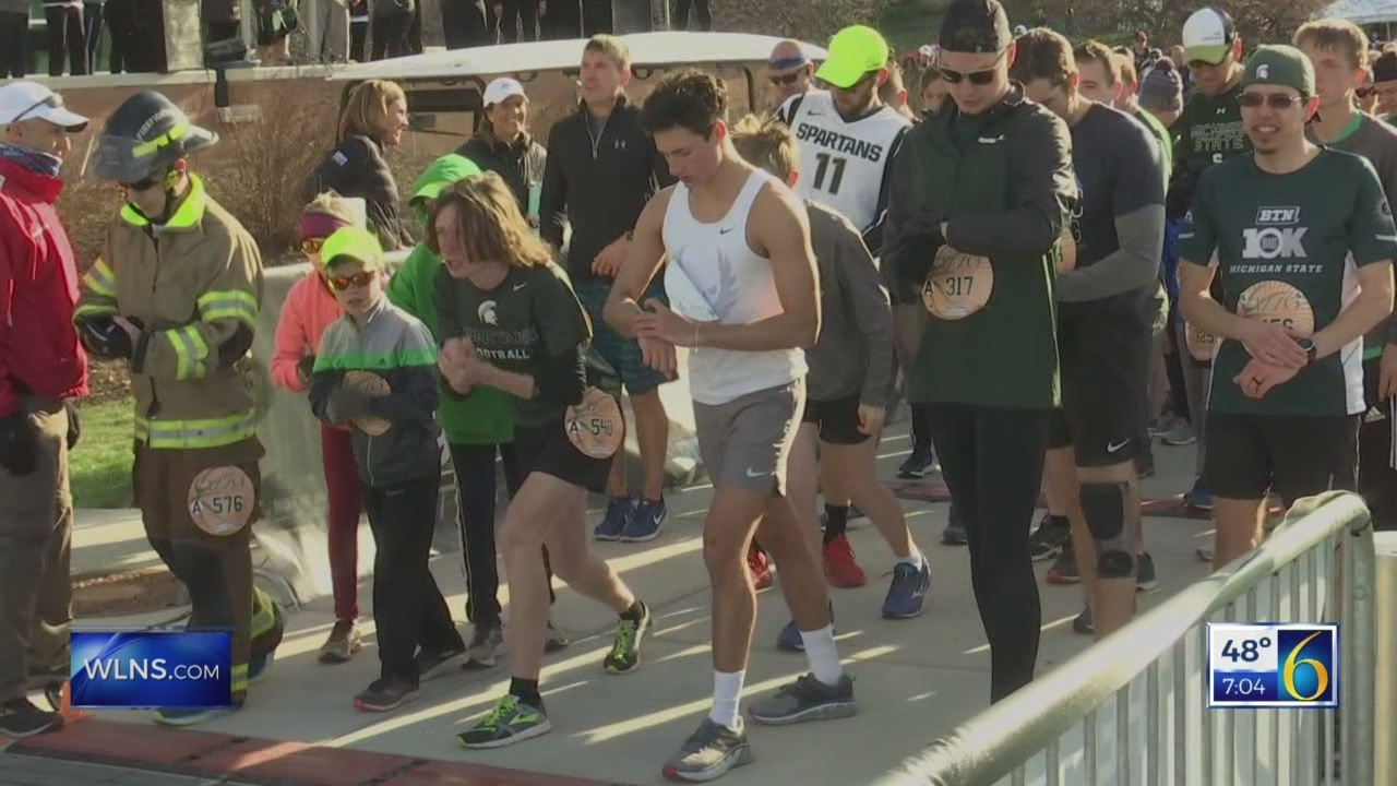 Thousands run in first Izzo race