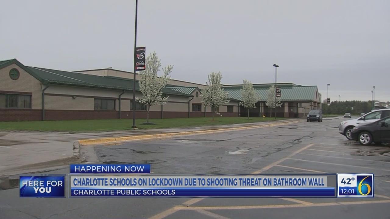 Charlotte schools lockdown lifted
