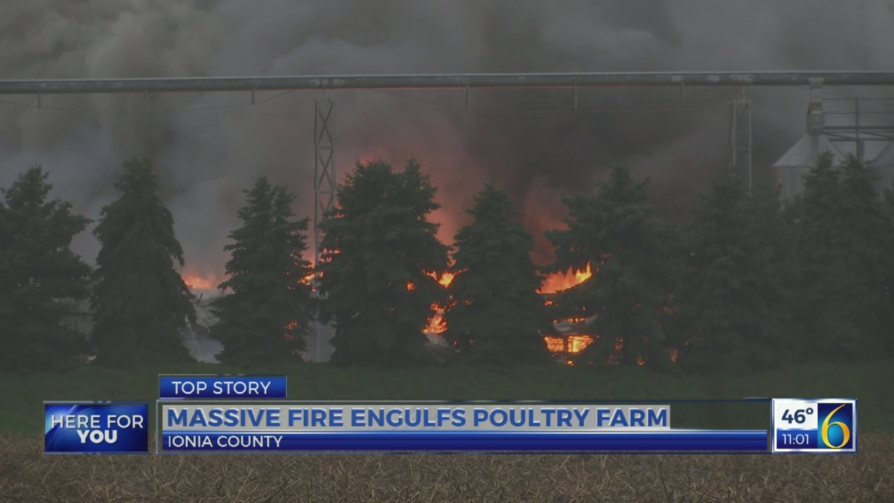 Ionia County fire