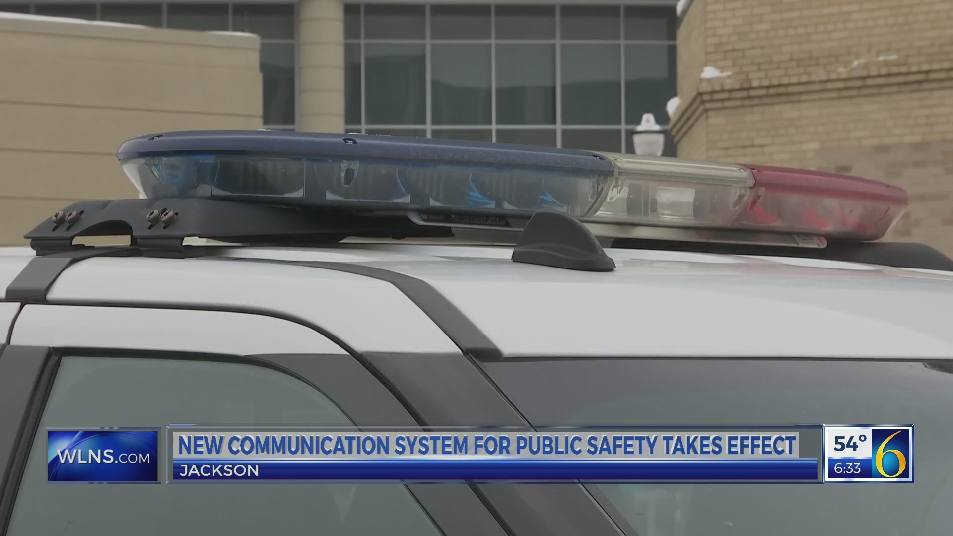 This Morning: Jackson communications system