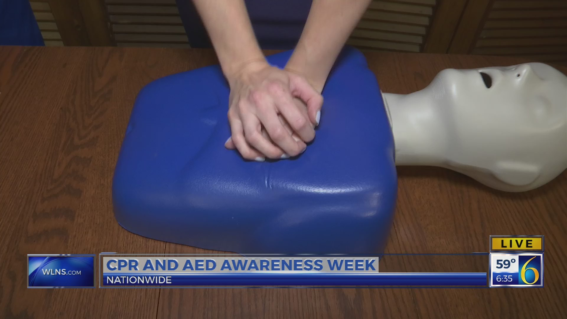 This Morning: Learning bystander CPR 2