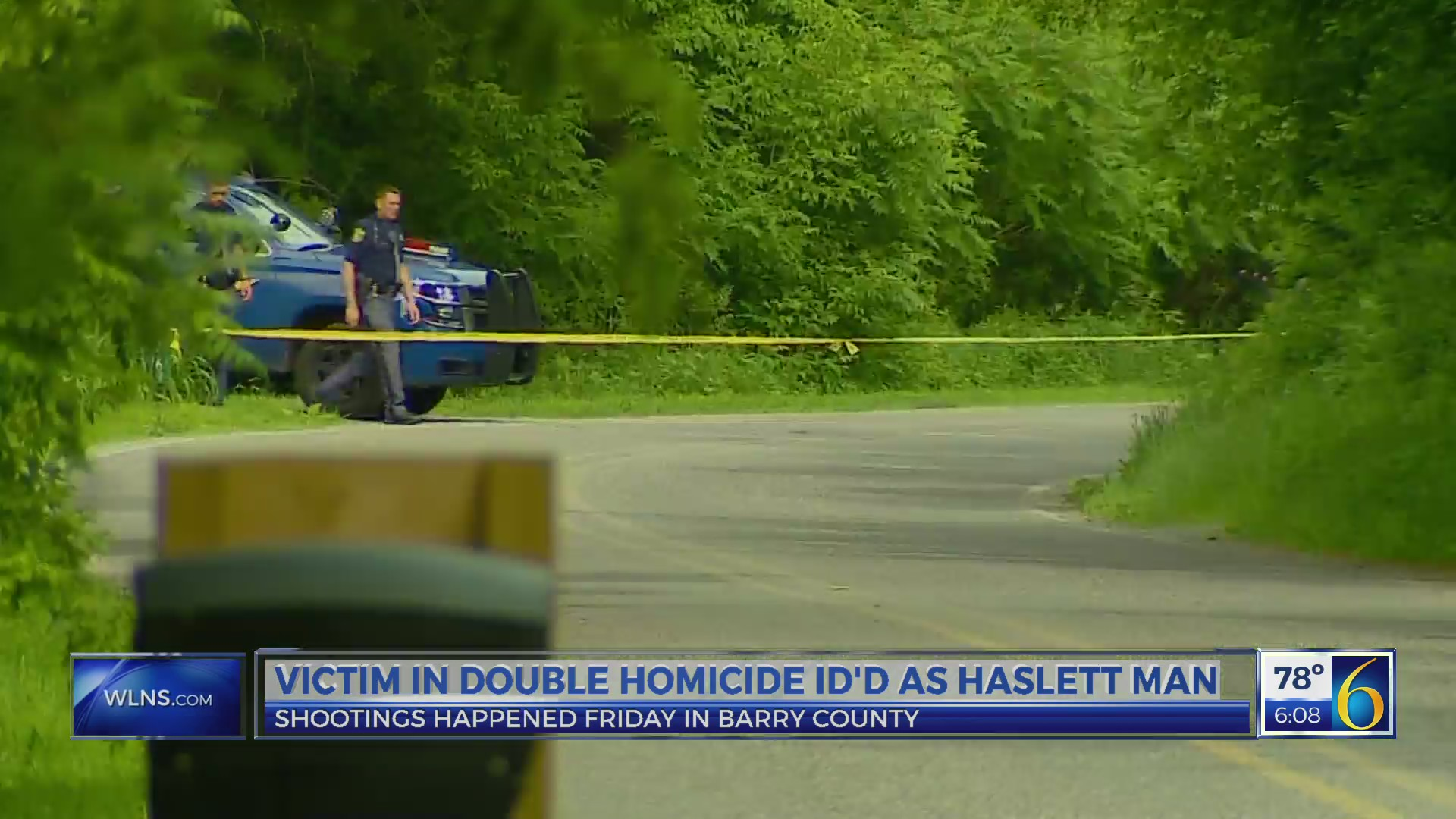 Haslett man ID'd as victim in Barry Co  double homicide