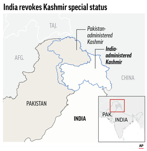 Pakistan downgrades diplomatic ties with India over Kashmir | WLNS 6