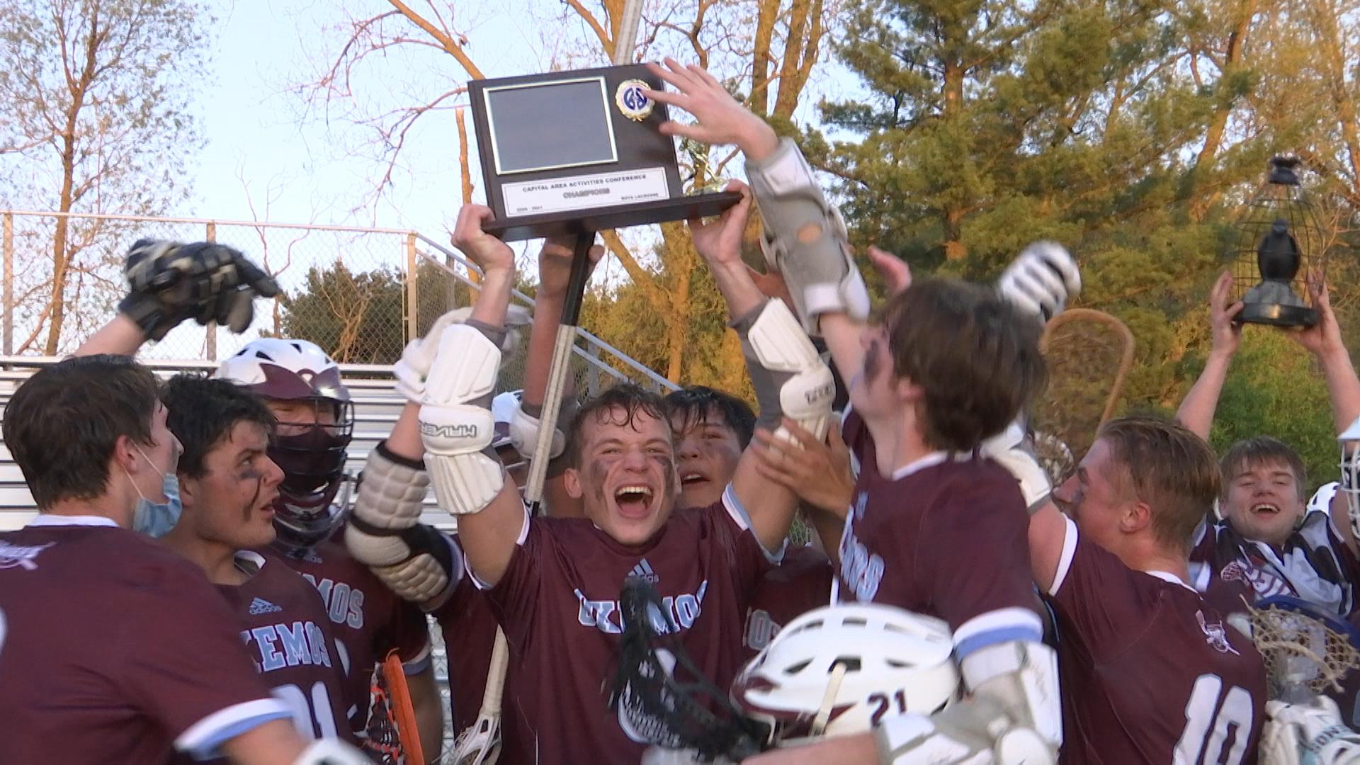 5-13-21 Okemos wins CAAC lacrosse title