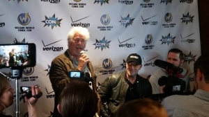 Barry Bostwick and Michael Rooker