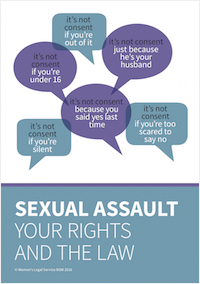 Sexual Assault booklet cover