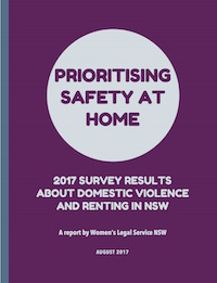 Image of the cover of the DV and renting survey report