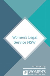 Women's Legal Service NSW Wallet Card