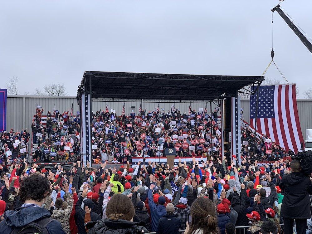 Trump rally in Allentown